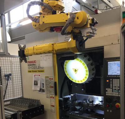 Automation Fräsmaschine Bild 1